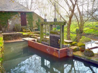 Réfection d'une vanne - Moulin de Lannoy
